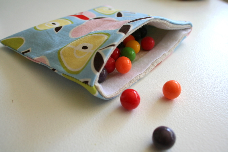 I Have To Say Reusable Snack Bag Tutorial