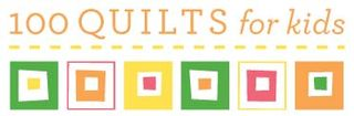 100 quilts for kids logo 2011