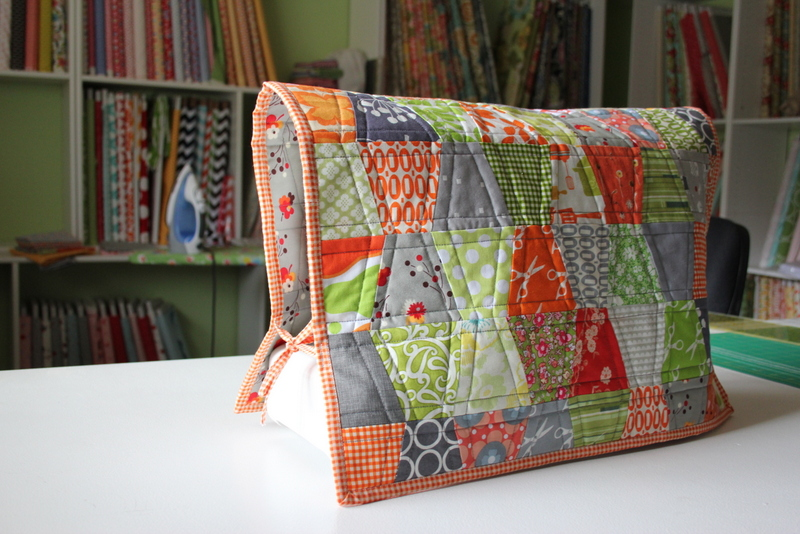 i have to say...: sew-along with me!: sewing machine cover
